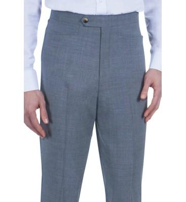 Slim Axle Bengaline (54% Microfiber Poly, 44% Wool, 2% Spandex)