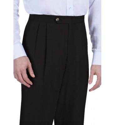Van Sharkskin (Poly, Pleats/Side Pockets, Limited Colors/Sizes)