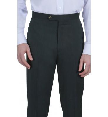Grant Melange (Side Pockets/Flat Front)