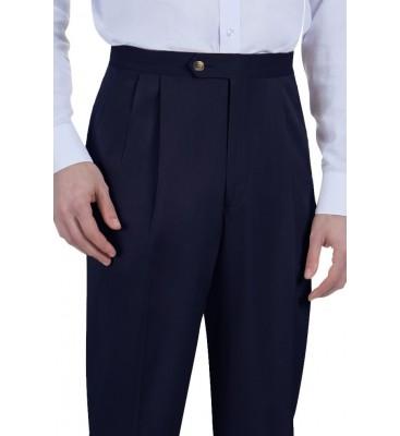 Van Melange (Side Pockets/Pleated Front)