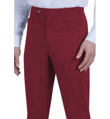 Slim Axle Poplin (Poly, Top, Western Pockets/Flat Front, Slim Fit Sizes 30-42 Only)