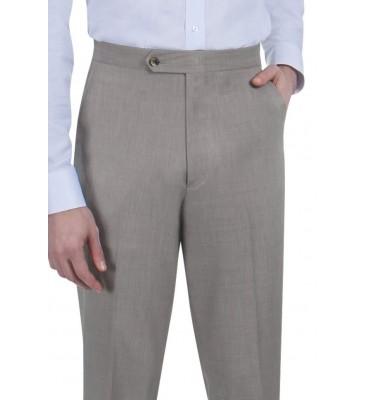 Grant Sharkskin  (Side Pockets/Flat Front)