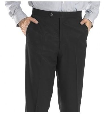 Grant Gabardine Twill  (Side Pockets/Flat Front)