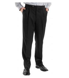Van Madison (Poly & Natural Fiber, Pleats/Side Pockets, 3 Colors)