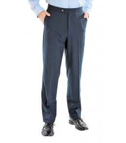 Grant Gab Twill w/Stretch (Poly, Side Pockets/Flat Front, 4 Colors)