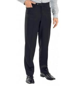 Bing Gab Twill w/Stretch (Poly Twill, Top, Western Pockets/Flat Front, 4 Colors)