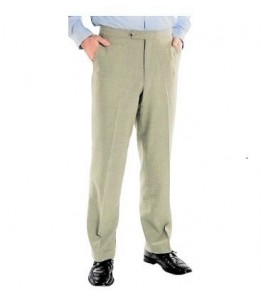 Grant Madison (Poly/Natural Fiber, Side Pockets/Flat Front, 3 Colors) New!