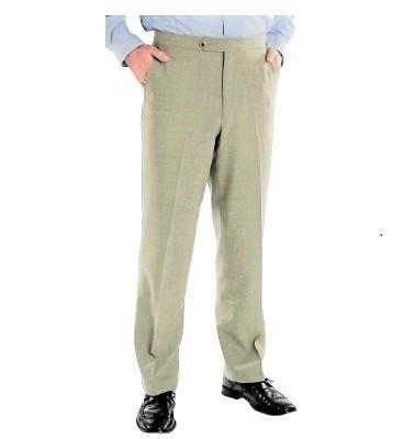 Grant Madison (Poly/Natural Fiber, Side Pockets/Flat Front, 3 Colors)