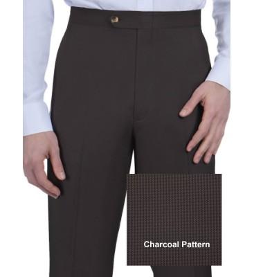 Grant Houndstooth (Flat Front, Side Pockets)